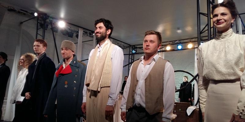 """Актеры спектакля """"Чехов"""" театра МОСТ"""