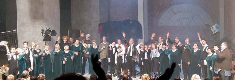 Спектакль «Борис» в Музее Москвы