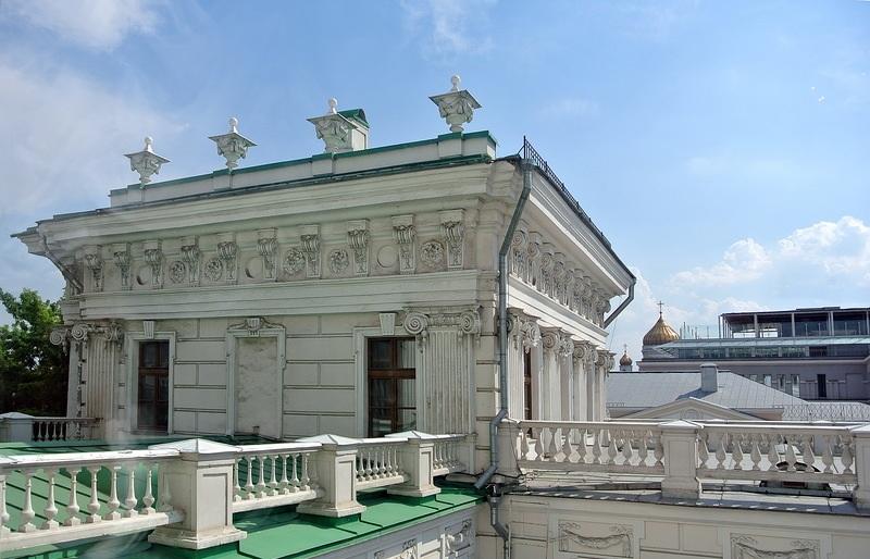 Балкон-терраса дома Пашкова