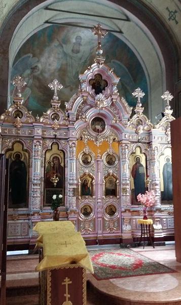храм Преображения Господня в Железнодорожном