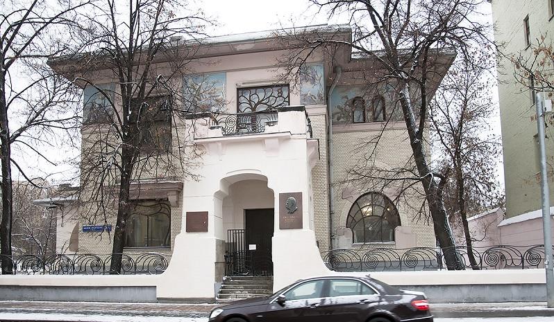 Вид на особняк Рябушинского С.П. с ул.Малая Никитская