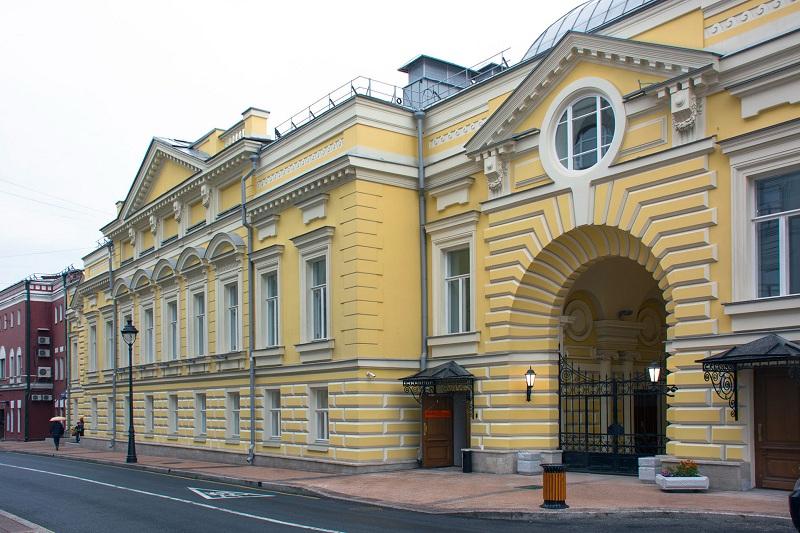 Современный вид театра Геликон-опера