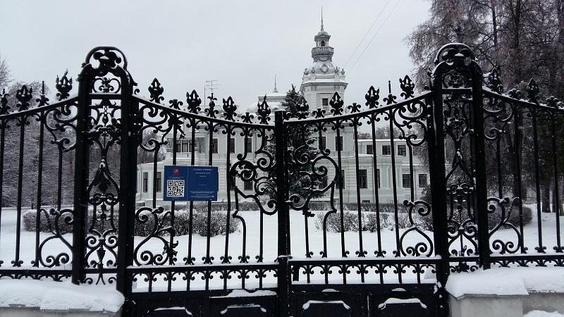 Ворота усадьбы Грачева
