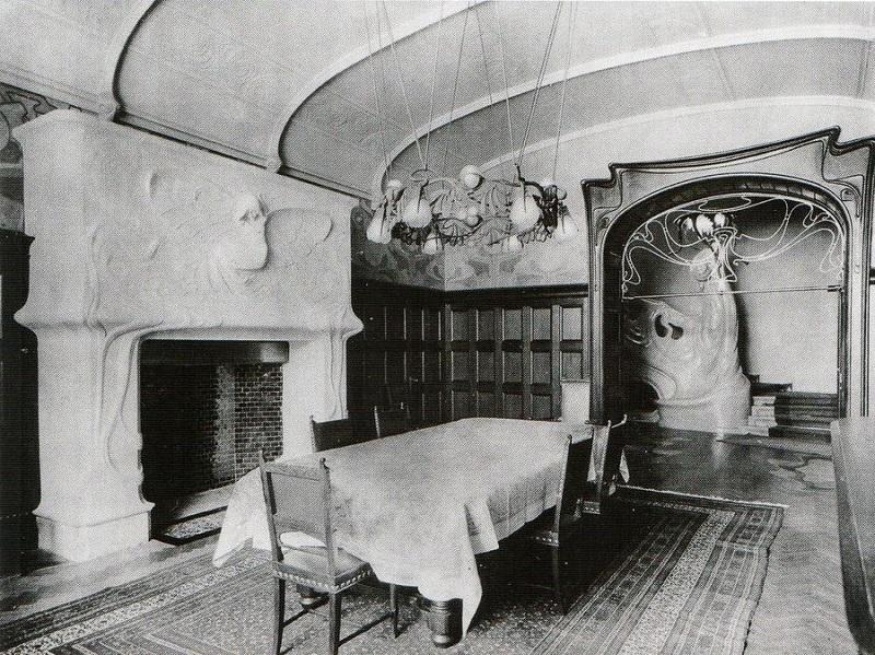 Гостиная (фото начала ХХ века)