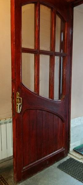 Внутренняя дверь черного хода особняка Рябушинских