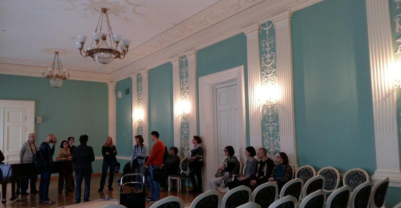 Зал Покровский Геликон-оперы