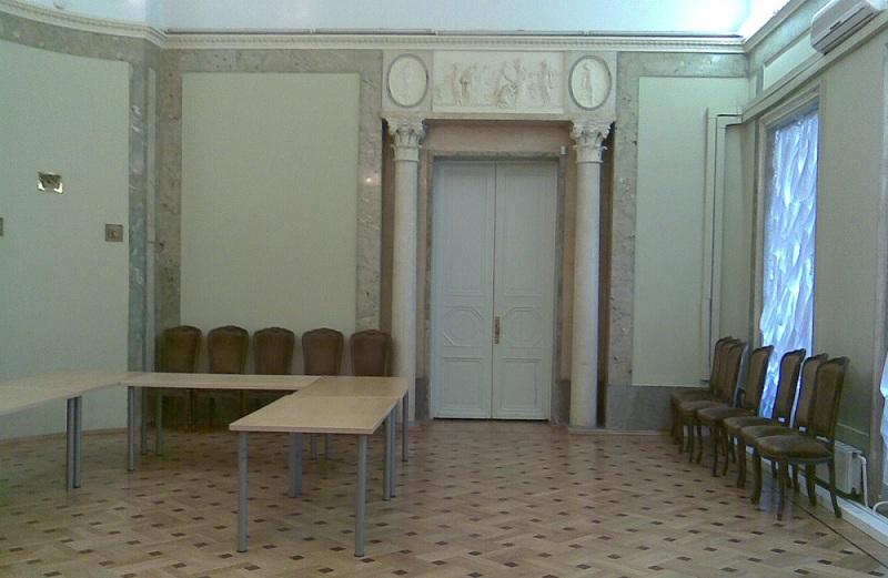 Усадьба Барышникова Зеленый зал