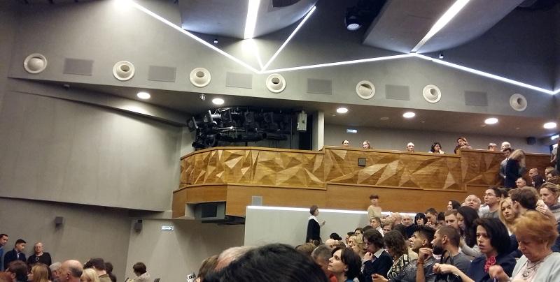 Зрительный зал сцены на Сухаревской