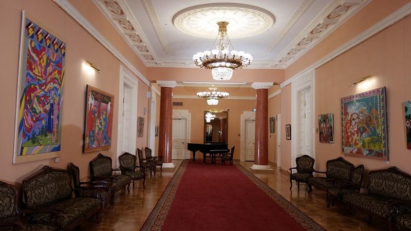 Историческое Фойе Геликон-оперы