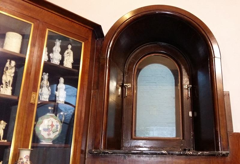 Окно в кабинете особняка Рябушинских