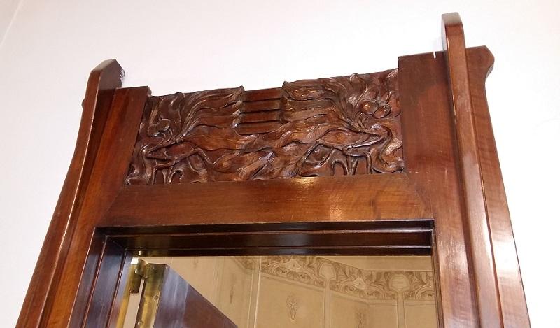 Дверь кабинета особняка Рябушинских