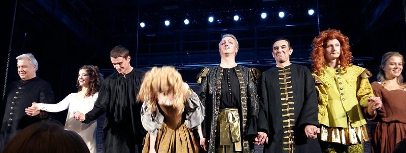 """Актеры, занятые в спектакле """"Кинастон"""" театра-студии под руководством О.П.Табакова"""
