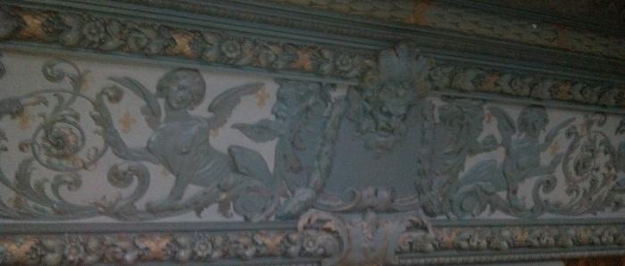 Потолок Классического зала особняка Смирнова