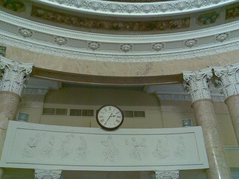 Усадьба Барышникова Круглый зал Балкон для музыкантов