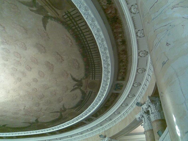 Усадьба Барышникова Потолок Круглого зала