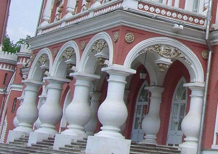 Крыльцо Петровского дворца