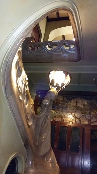 Лестница особняка Рябушинских