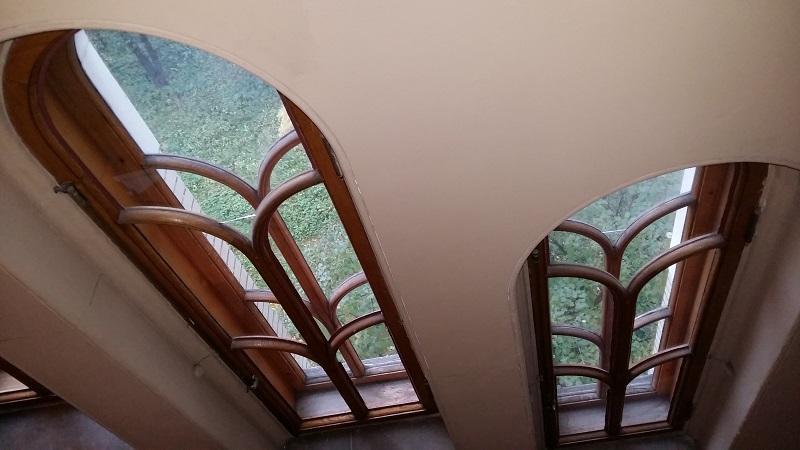 Лестница на третий этаж особняка Рябушинских