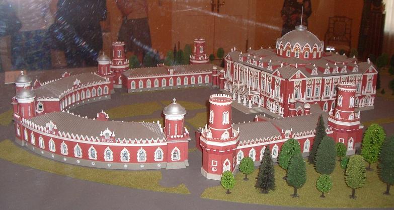 Макет Петровского дворца