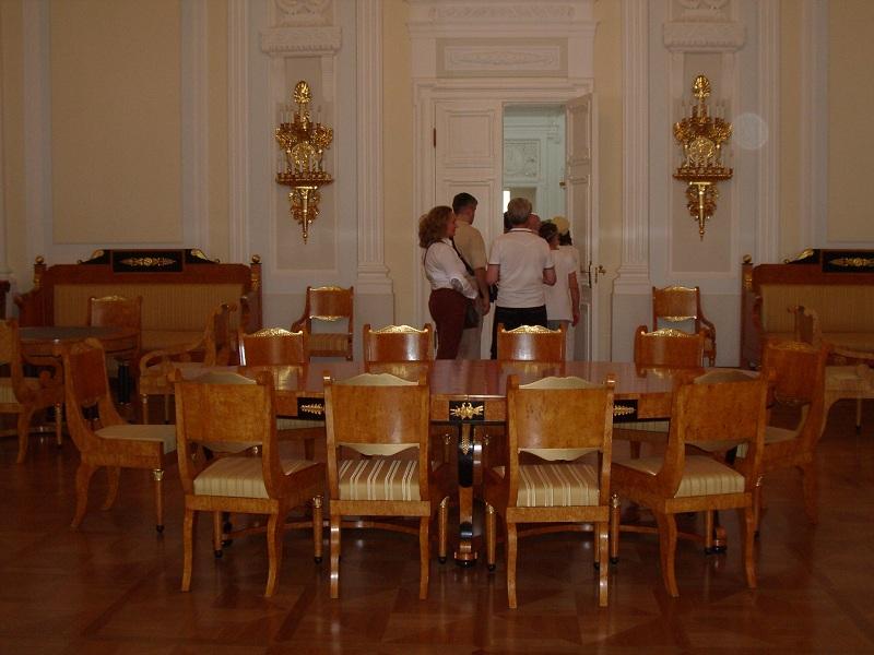 Петровская гостиная Петровского замка