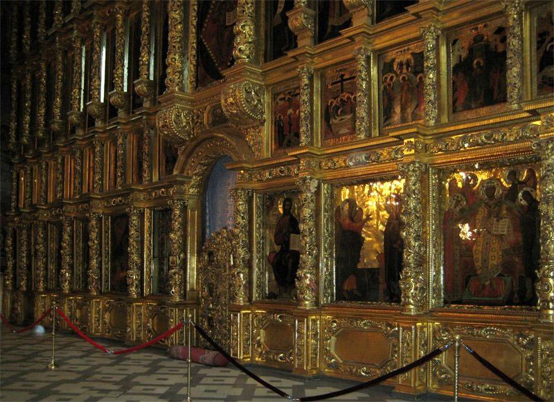 Иконостас Смоленского собора Новодевичьего монастыря
