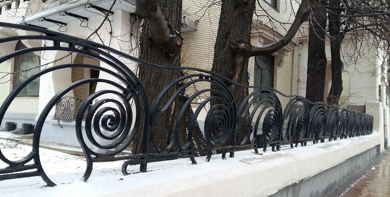 Ограда особняка Рябушинского С.П.