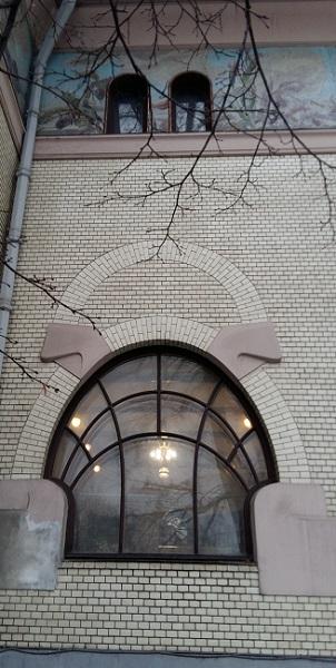 Окна особняка Рябушинского С.П.