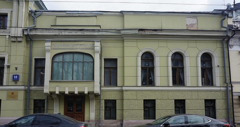 Особняк Смирнова на Тверском бульваре