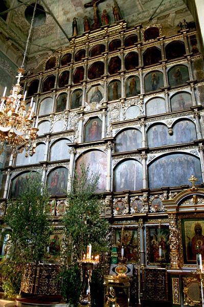 Иконостас Троицкой церкви Останкино