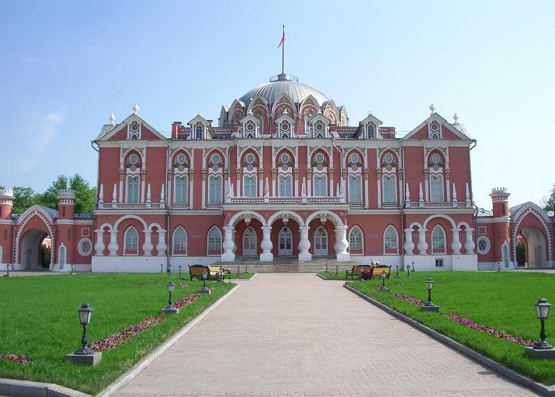Петровский путевой дворец. Внешний вид