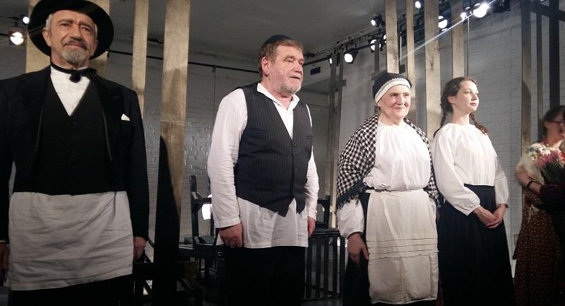 """Актеры, занятые в спектакле """"Поминальная молитва"""" театра МОСТ"""