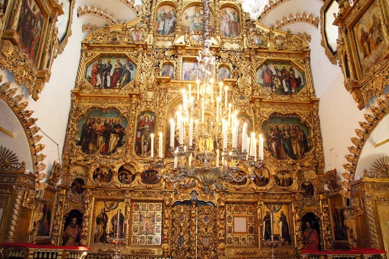 Верхний храм Спаса Нерукотворного церкви Покрова в Филях