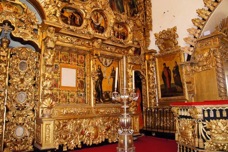 Храм Спаса Нерукотворного церкви Покрова в Филях