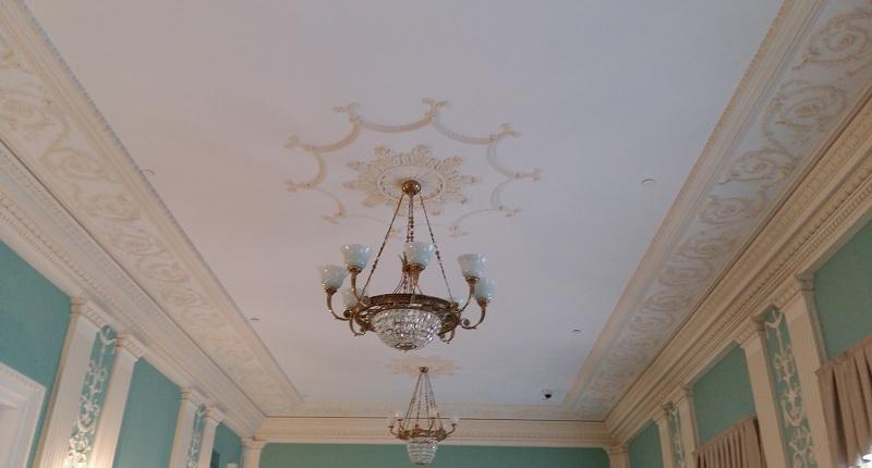 Потолок в зале Покровский Геликон-оперы