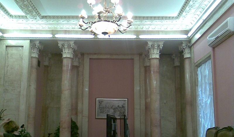 Усадьба Барышникова Розовый зал