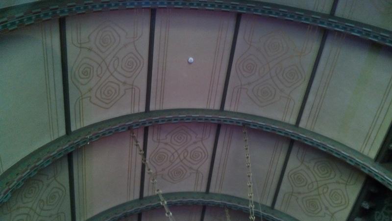 Потолок Романского зала особняка Смирнова