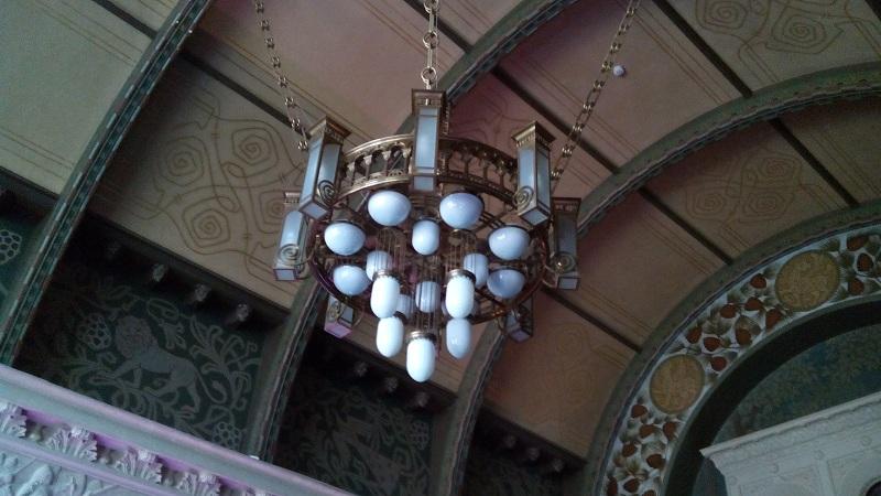 Люстра Романского зала особняка Смирнова