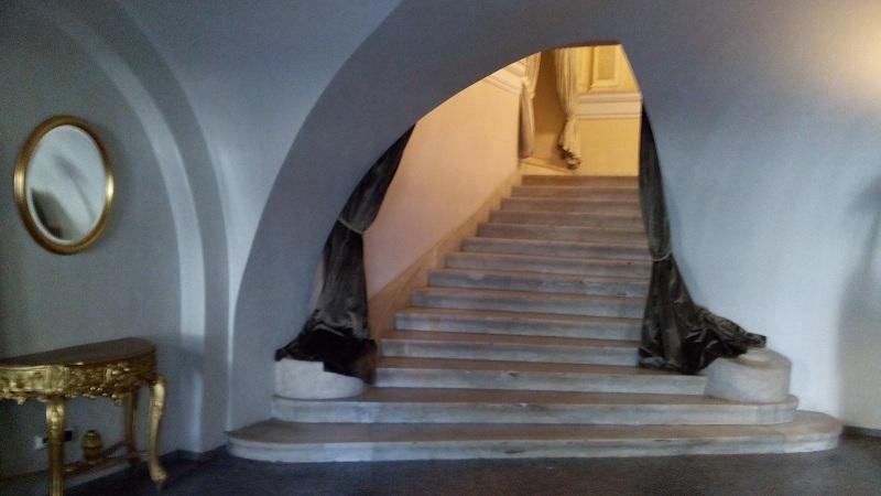 Ломаный дверной проем Северного вестибюля особняка Смирнова