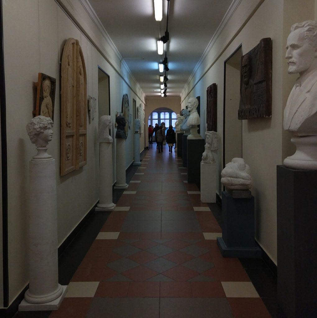Кафедра монументальной скульптуры МГХПА