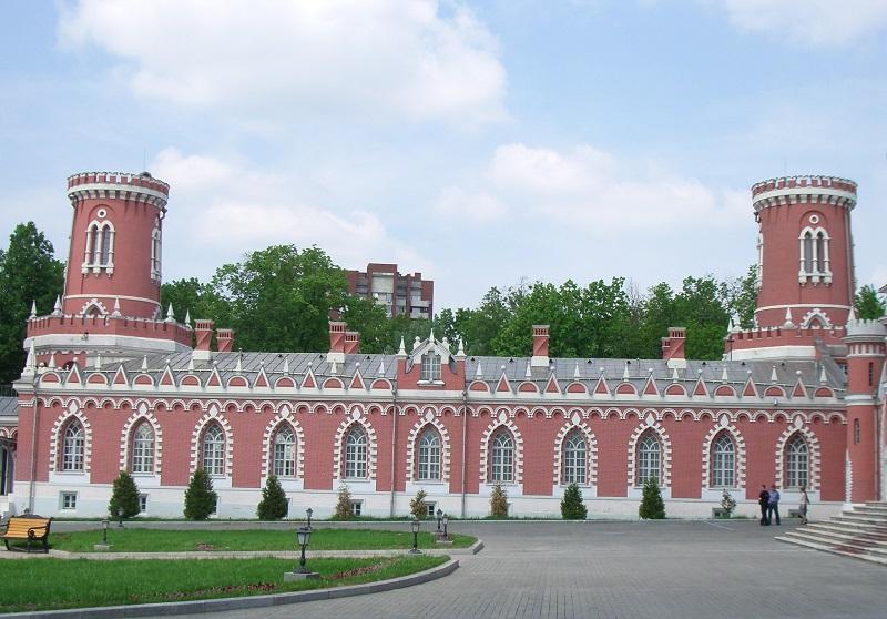 Флигель Петровского замка.