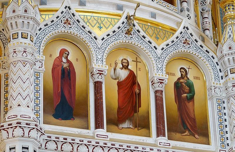 иконостас Храма Христа Спасителя