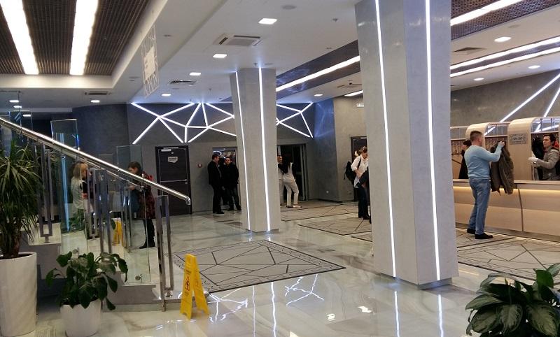 Фойе первого этажа сцены на Сухаревской
