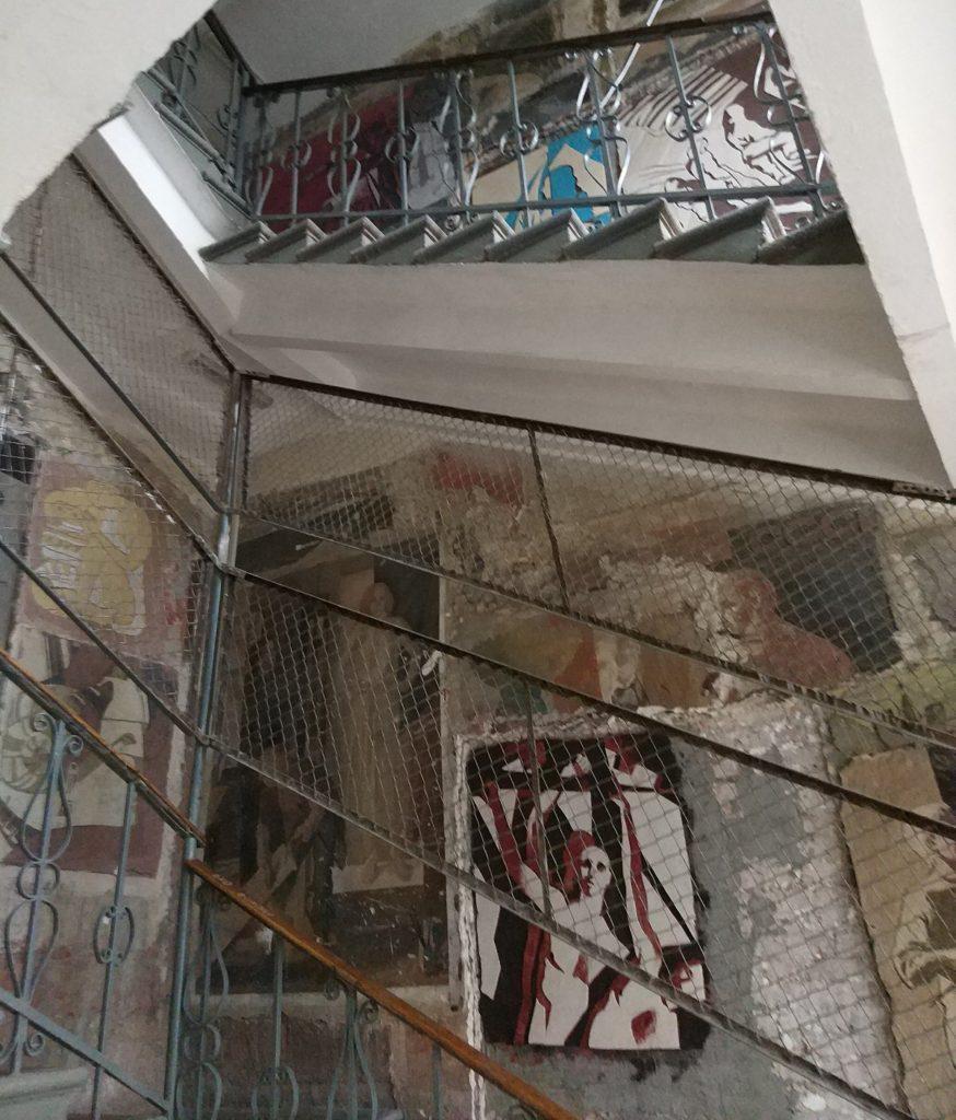 Боковая лестница Строгановки